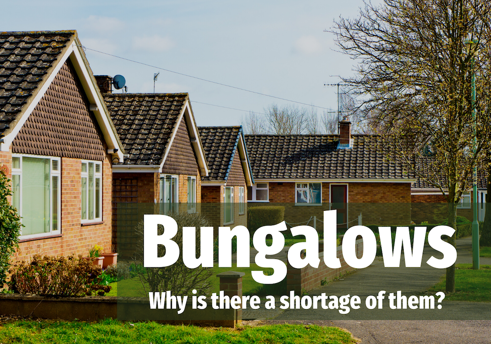 358 Oven Readys 4 - Only 1 in 16 Marple Properties are Bungalows, Despite an Ageing Population. Why?